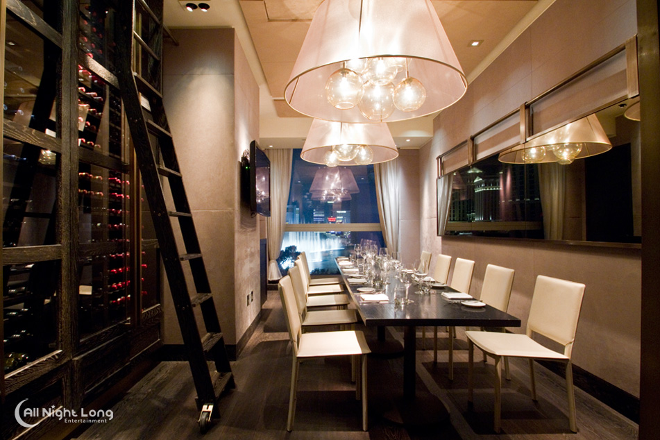 Scarpetta Restaurant Las Vegas Restaurant Photogaphy All Night Long Photo